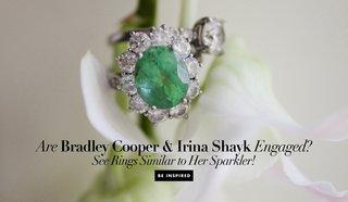 bradley-cooper-and-irina-shyak-engaged-emerald-engagement-ring-diamond-halo