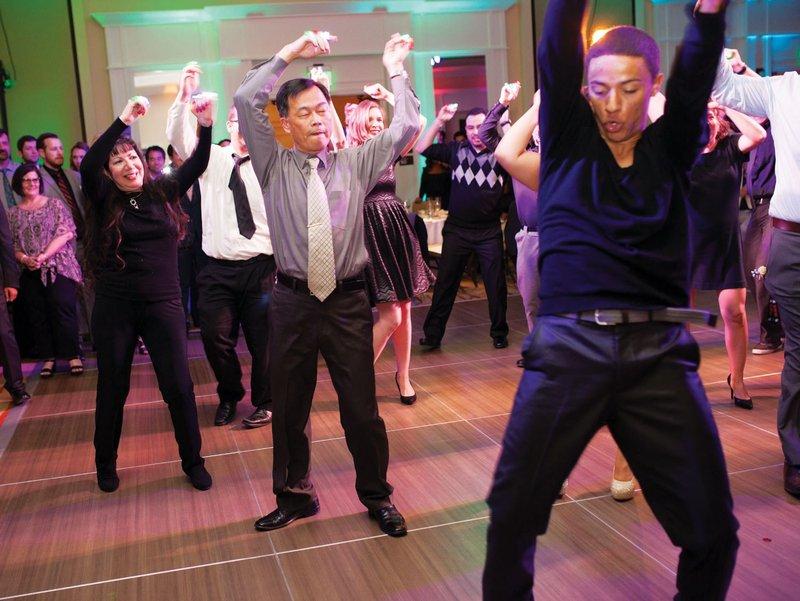 Dance Instructor at Wedding Reception
