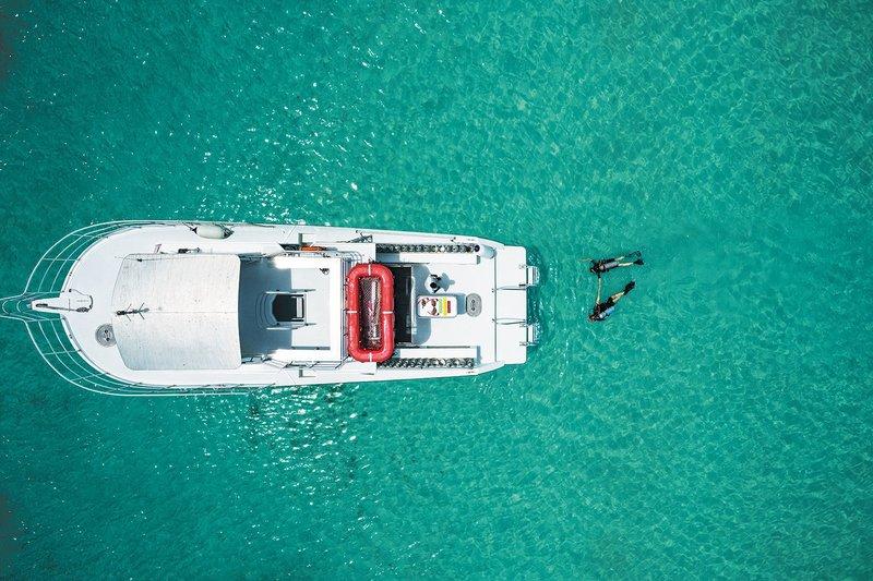 Dive Boat at Beaches Resorts