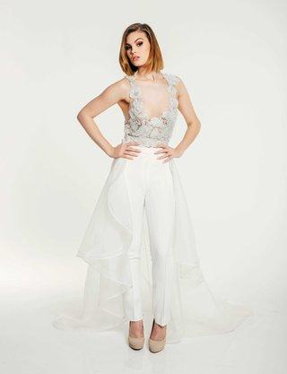 olia-zavozina-fall-2017-bridal-collection-rosa-illusion-top-beaded-flower-applique-pants-overskirt