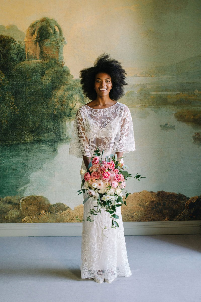 """Selena"" Tunic Top & Skirt by Claire Pettibone"