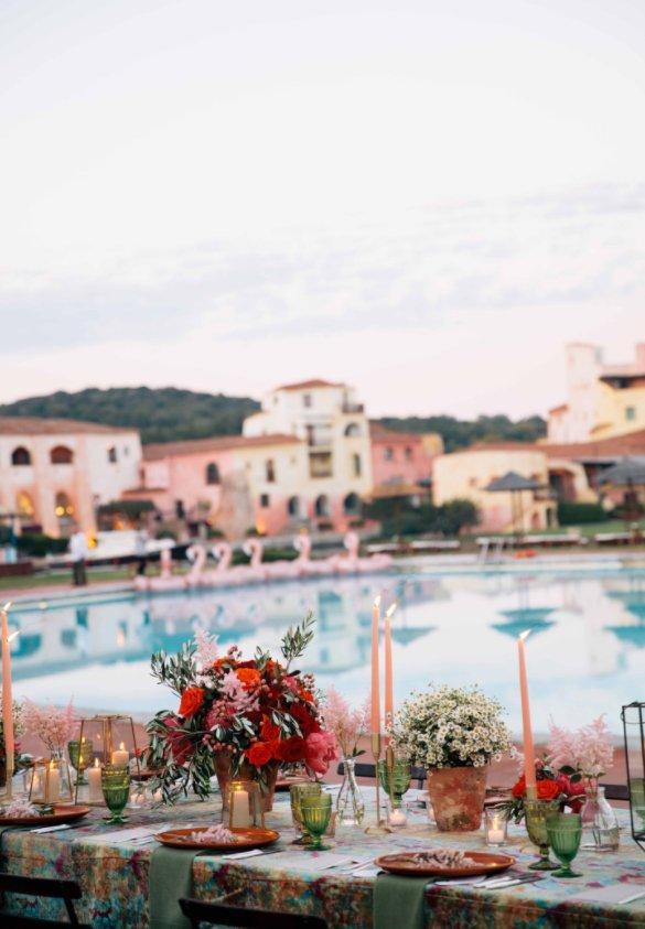 Italy Wedding Reception Décor