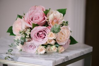 large-pink-roses-garden-roses-peonies-in-bridesmaid-bouquet