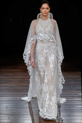 naeem-khan-bridal-spring-2017-medina-hand-embroidery-high-neck-sleeveless-wedding-dress-with-cape