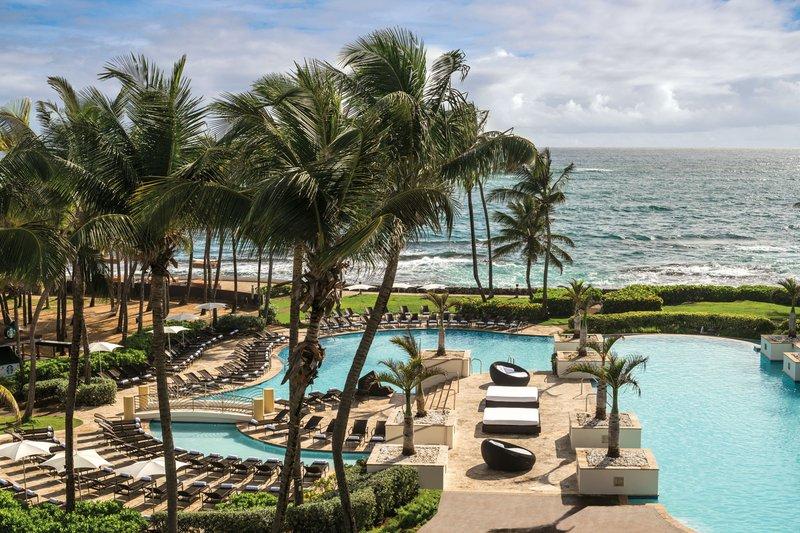 Caribe Hilton - Pools