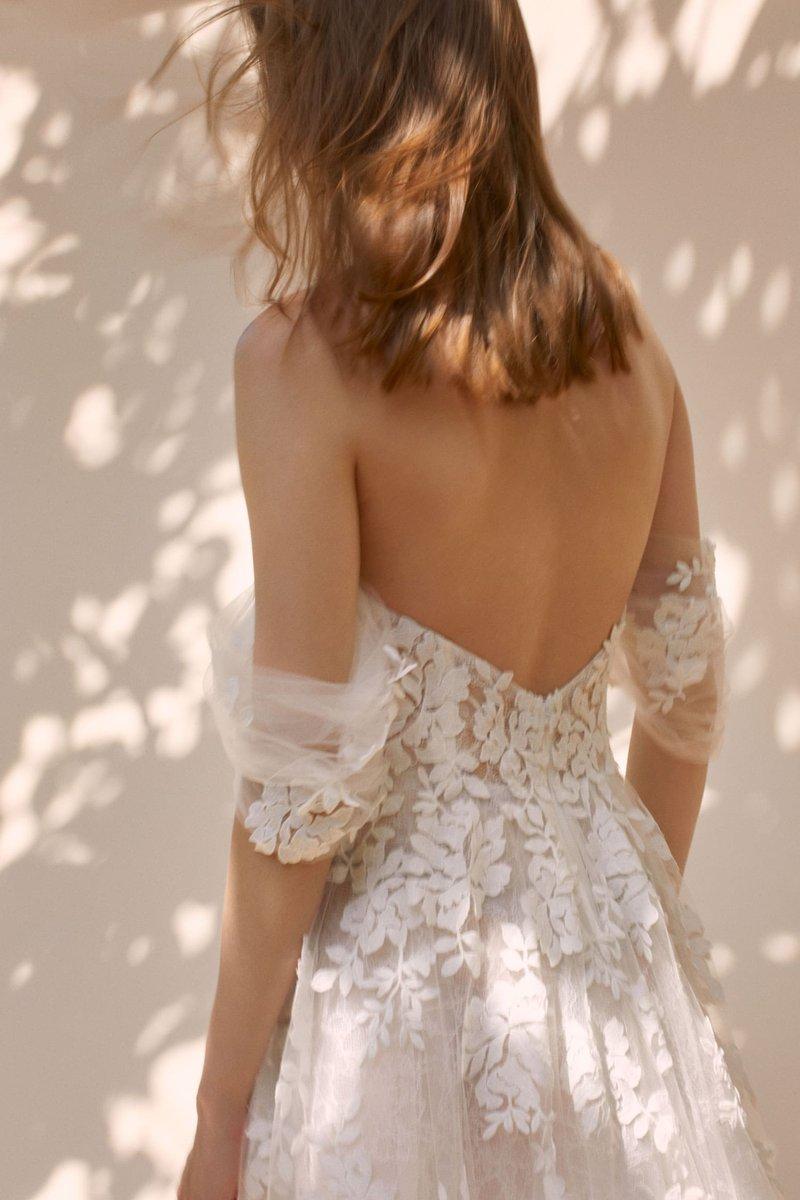 "Back of ""Loretta"" by Francesca Miranda"