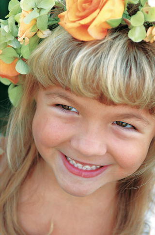 close-up-photo-of-flower-girl-with-flower-crown
