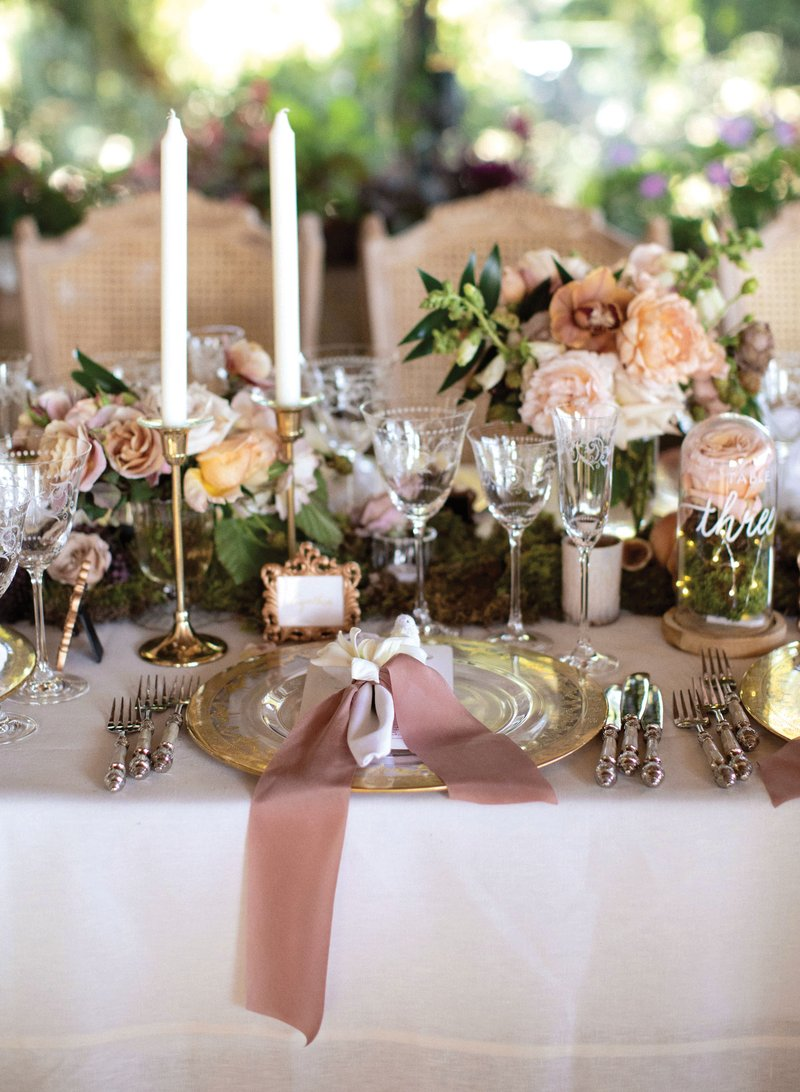 Vintage-Inspired Tablescape