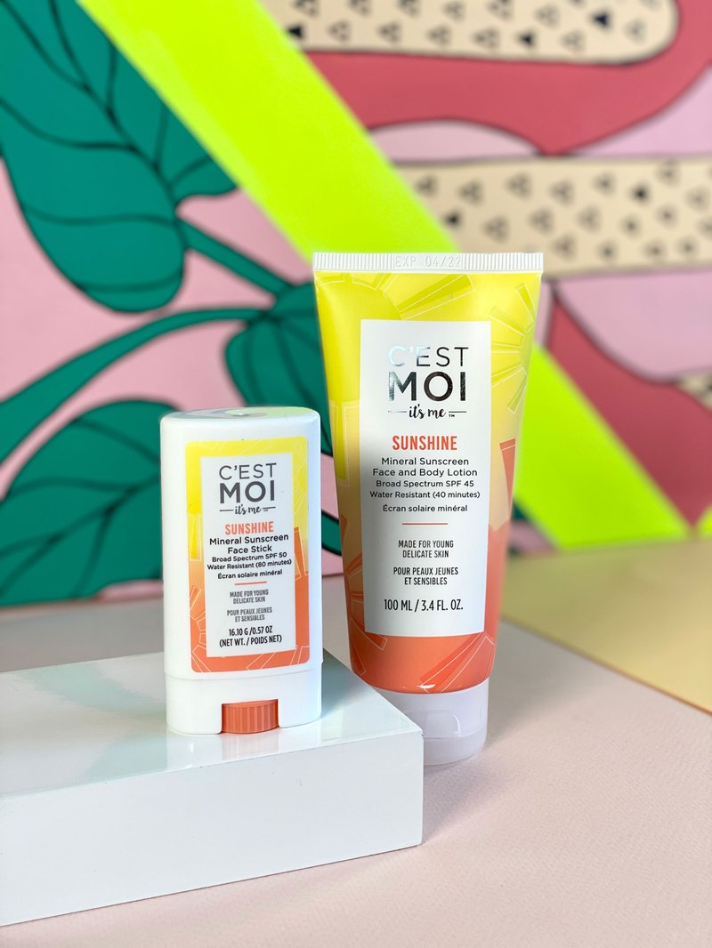 C'est Moi Sunshine Mineral SPF Collection