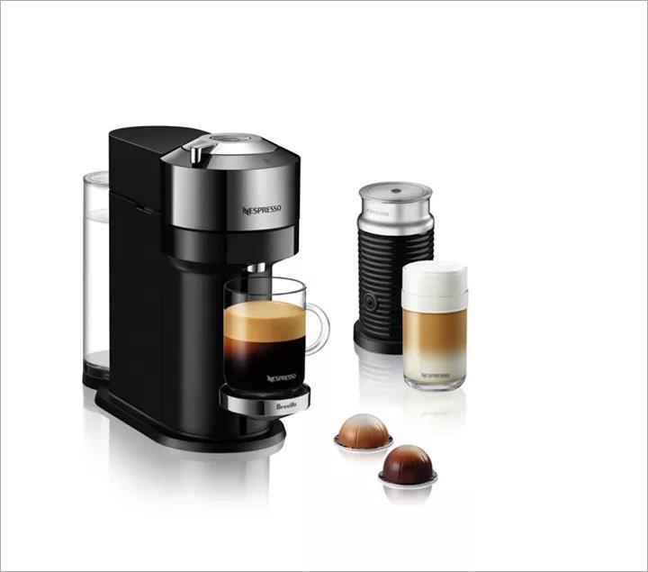 Nespresso Vertuo Next Deluxe Coffee & Espresso Maker by Breville