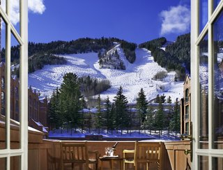 The St. Regis Aspen exterior winter wedding honeymoon ideas