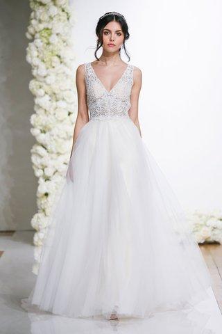 morilee-by-madeline-gardner-endless-love-wedding-dress-lucinda-v-neck-ball-gown-tulle-skirt