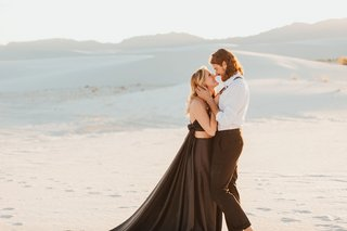 White Sands National Monument Engagement Shoot