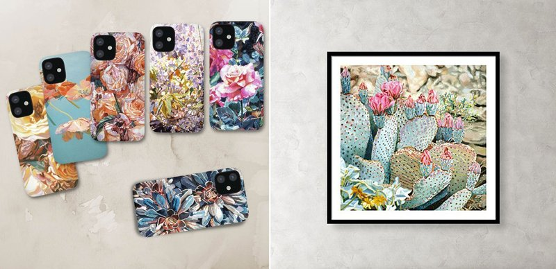 Shirley Pettibone Art - Phone Cases & Framed Prints