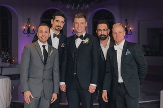 famous-boy-band-singers-at-nick-carters-reception