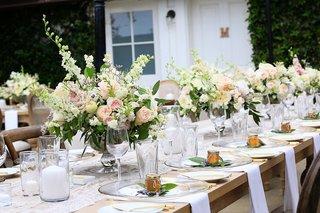 white-fluffy-peonies-pink-blushing-bride-garden-roses-sweet-pea-white-spirea-pieris