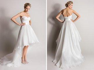 strapless-short-high-low-wedding-dress