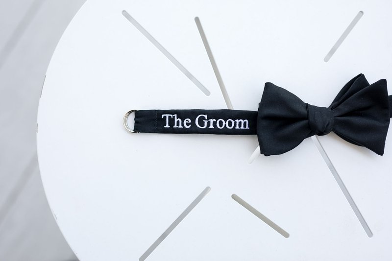 "Tuxedo with ""The Groom"" Embroidery"