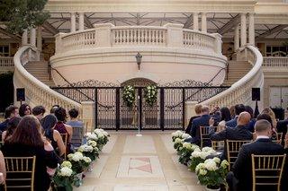 outdoor-wedding-ceremony-at-the-bellagio-hotel-patio-in-las-vegas