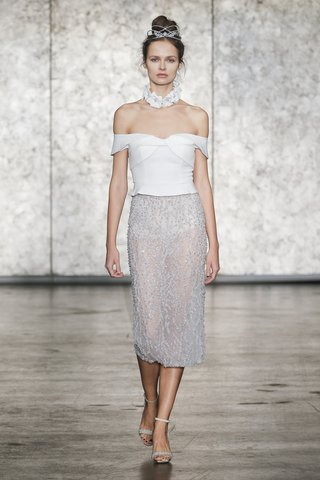 inbal-dror-fall-2018-two-piece-off-the-shoulder-top-with-fully-beaded-pencil-skirt