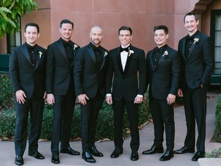 wedding-portrait-matthew-lawrence-with-groomsmen-including-ben-savage-andy-lawrence-joey-lawrence