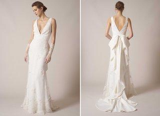 sachin-babi-spring-summer-2017-debut-bridal-collection-v-neck-v-back-pearl-dotted-wedding-dress
