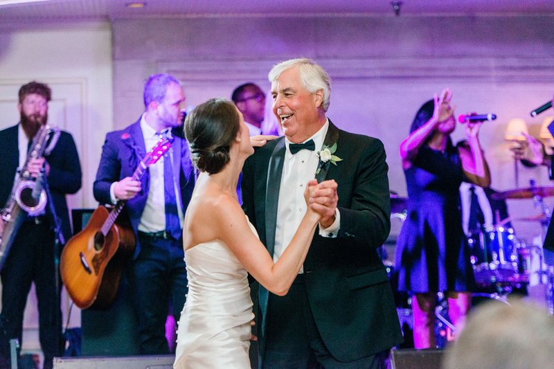 Father-Daughter Dance with Lakeshore Encores Band