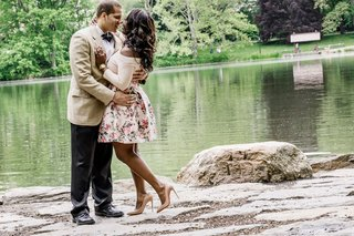 wedding engagement shoot central park