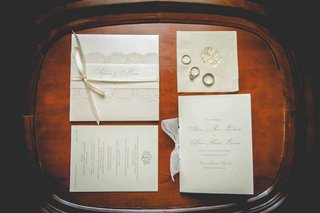 cream-wedding-invitation-suite-with-lace-and-ribbon-embellishments