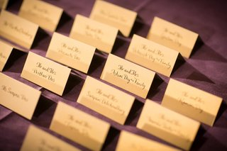 calligraphy-place-cards-on-plum-linens