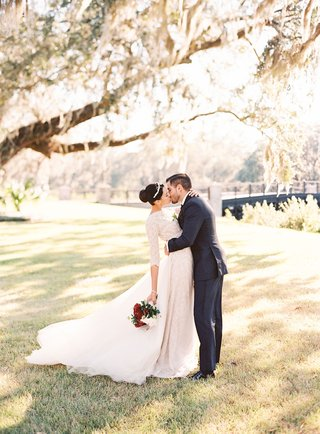 bride-and-groom-kiss-wedding-portrait-montage-palmetto-bluff-south-carolina-lowcountry-bluffton-long