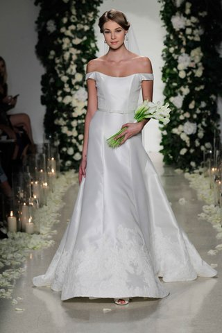 anne-barge-fall-2016-off-the-shoulder-wedding-dress-fit-and-flare