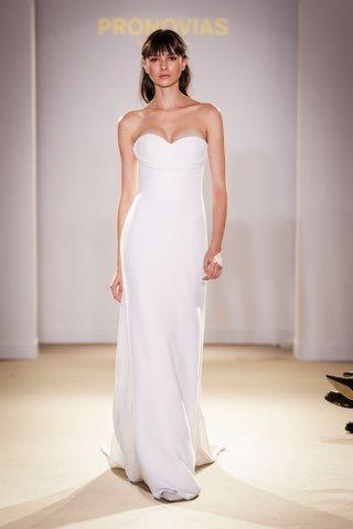 atelier-pronovias-2019-bridal-collection-wedding-dresses-sleek-silk-satin-strapless-bridal-gown