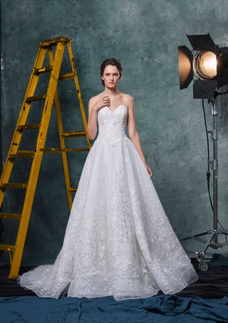 sareh-nouri-fall-2019-bridal-collection-wedding-dress-penelope-embroidered-tulle-sparkle-lace-a-line
