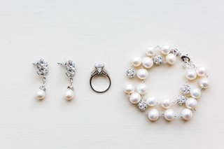 wedding-jewelry-engagement-ring-pearl-and-diamond-bracelet-with-earrings-drop-earring-engagement-rin