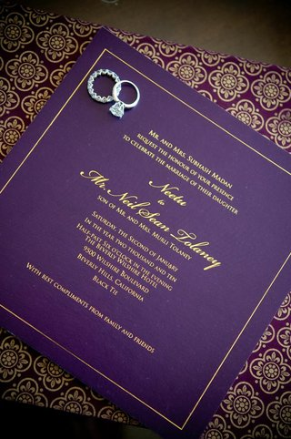 diamond-ring-and-eternity-band-on-wedding-invite