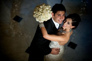 indian-american-couple-in-western-ceremony-attire