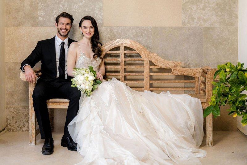 Gearys 2020 Wedding Couple