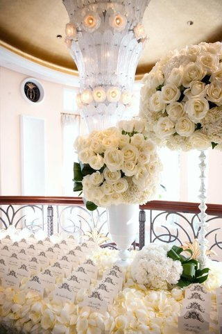 white-seating-cards-on-ivory-rose-petals