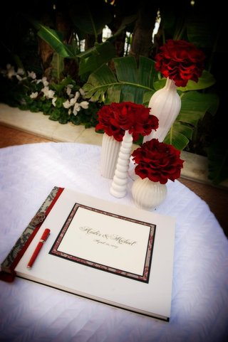 red-and-black-lace-bordered-guestbook