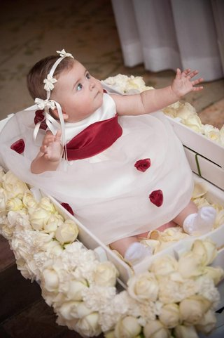 baby-flower-girl-in-rose-covered-box
