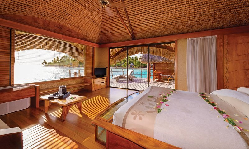 Overwater Bungalow at Le Taha'a by Pearl Resorts
