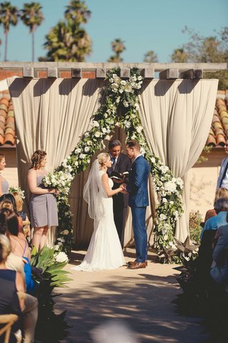 jenna-reeves-and-plain-white-ts-singer-tim-lopez-at-outdoor-santa-barbara-wedding-ceremony-drapery