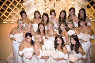 bride-with-bridesmaids-at-ceremony-site