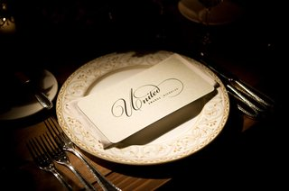 white-and-gold-china-plate-with-united-menu-card