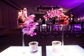 small-bar-after-party-flower-arrangement-with-purple-orchid