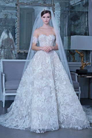 romona-keveza-fall-2019-bridal-collection-wedding-dress-rk509-ball-gown-floral-appliques-embroidery