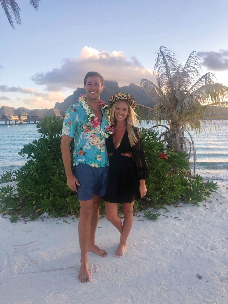 Honeymooners in Bora Bora, French Polynesia