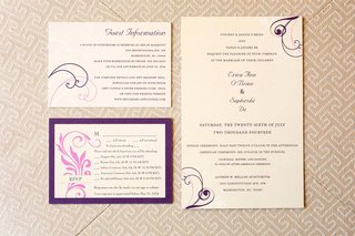 custom-purple-and-tan-wedding-invitations
