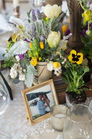 rustic-chic-garden-table-arrangement-new-york-city-bridal-shower-wedding-votives-runner